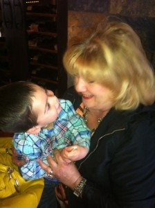 He has learned so much from his Grammy Mimi already!